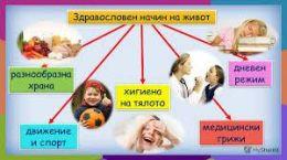"""Проект """"Твоят час"""", Клуб """" Здравословно хранене и здравословен начин на живот"""" - Изображение 1"""