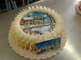 Коледна изложба - 02 - Професионална гимназия по туризъм Кюстендил