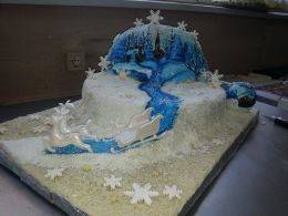 Коледна изложба - 07 - Професионална гимназия по туризъм Кюстендил