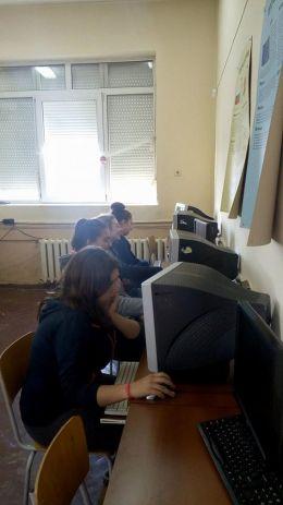 Работа по календар на групата - Професионална гимназия по туризъм Кюстендил