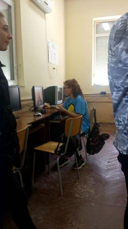 работа върху презентацията - Професионална гимназия по туризъм Кюстендил