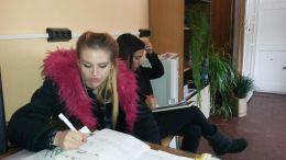 Решаване на тест - Професионална гимназия по туризъм Кюстендил
