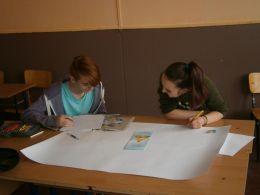 Изготвяне на табло - Професионална гимназия по туризъм Кюстендил