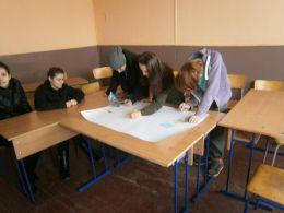 Изготвяне на табло 1 - Професионална гимназия по туризъм Кюстендил