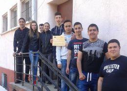 млади предприемачи - Професионална гимназия по туризъм Кюстендил