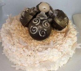 коледна торта - Професионална гимназия по туризъм Кюстендил