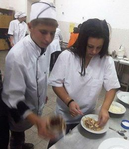 Василена и Денислав - 9 б клас - Професионална гимназия по туризъм Кюстендил