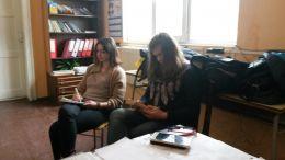 сбирка на групата - Професионална гимназия по туризъм Кюстендил