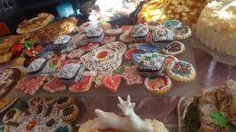 коледна изложба - Професионална гимназия по туризъм Кюстендил